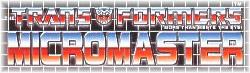 À savoir... Lexique: Les Jouets et Continuité Transformers Micromaster_collection_logo