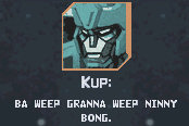 Kup wfc transformers wiki so old hes forgotten how to say the universal greeting m4hsunfo
