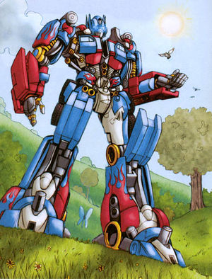 Optimus Prime Movie Transformers Wiki
