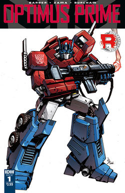 Optimus Prime (comic) - Transformers Wiki