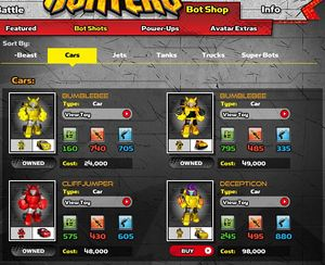Bot Shots Battle Game! - Transformers Wiki