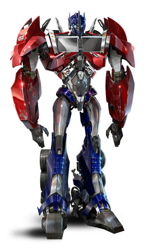 optimus prime wfc transformers wiki