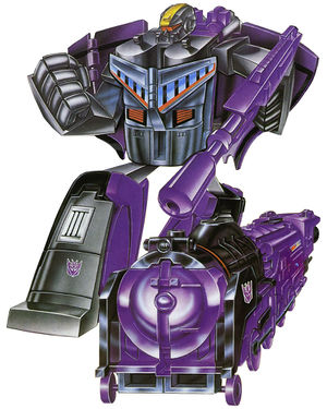 Transformers G1 DECEPTICON ASTROTRAIN Triple Changer Walmart Reissue