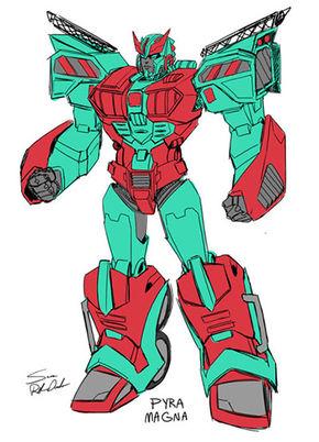 Pyra Magna - Transformers Wiki
