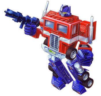 Run Flat Tire Wikipedia >> Optimus Prime G1 Toys Transformers Wiki