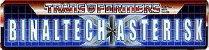 À savoir... Lexique: Les Jouets et Continuité Transformers 300px-Binaltechasterisk_logo