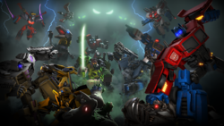 Transformers: Forged to Fight - Transformers Wiki