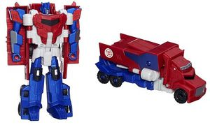 Transformers Robots in Disguise Hyper changement Optimus Prime