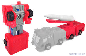Missile Master Astro Squad MICROMASTER Transformers G1 1990 Moonrock