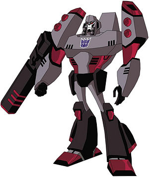 megatron animated transformers wiki