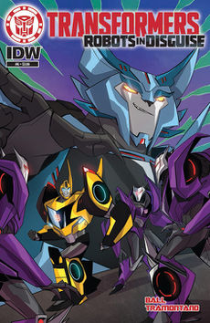 Robots in Disguise issue 6 - Transformers Wiki