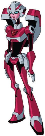 Arcee (Animated) - Transformers Wiki