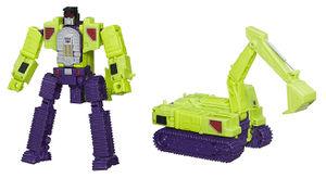 Vtg Transformers G1 1985 Devastator Bonecrusher Scavenger ROTOR BLADE missile
