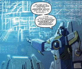 Shockwave (G1)/2005 IDW continuity - Transformers Wiki