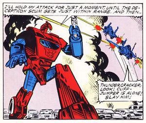Cliffjumper (G1) - Transformers Wiki