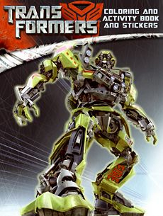 Transformers: Coloring and Activity Book and Stickers - Transformers ...