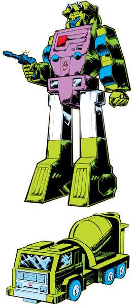 Mixmaster (G1) - Transformers Wiki