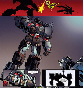 Megatron (G1)/2005 IDW continuity - Transformers Wiki