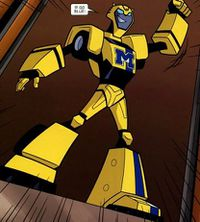 Bumblebee (Animated) - Transformers Wiki
