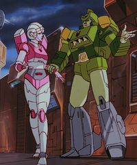 Arcee G1 Generation 1 Cartoon Continuity Transformers Wiki