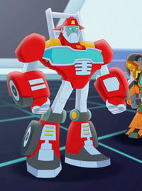 Heatwave (RB) - Transformers Wiki