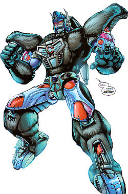 optimus primal bw transformers wiki