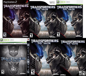 Video games - Transformers Wiki