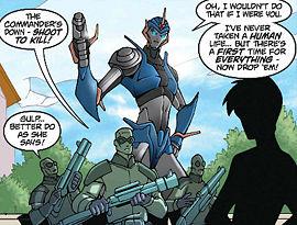 Arcee (WFC) - Transformers Wiki