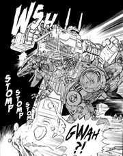 Super Robot Lifeform Transformers Manga Story Pages