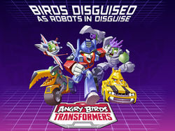 Angry Birds Transformers Mobile Game Transformers Wiki