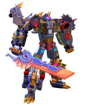 Transformers ~ DINOBOTS VOLCANICUS COMBINER SET ~ Power of the Primes