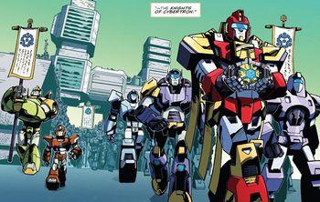 Knights of Cybertron - Transformers Wiki