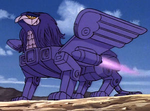giant purple griffin transformers wiki
