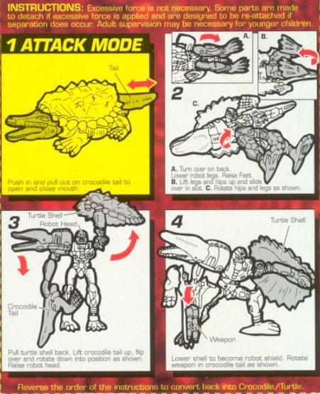 Beast Wars Instructions